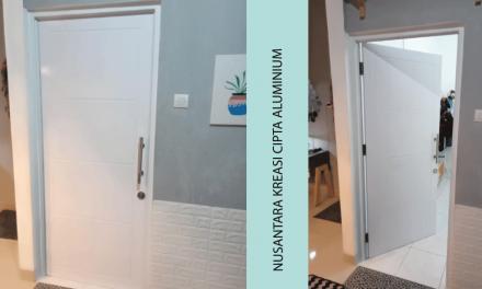 Jasa Pembuatan dan Pemasangan Pintu Aluminium