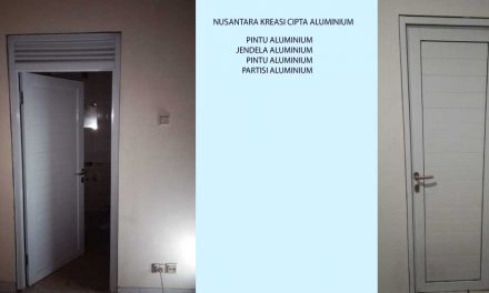 Mengubah Tampilan Kantor Dengan Pintu Aluminium