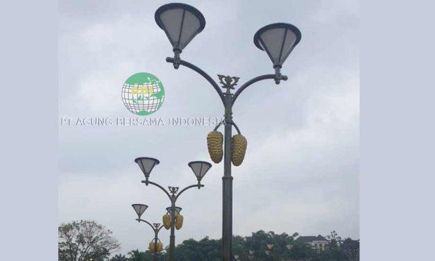 Inovasi Produksi Model Tiang Lampu