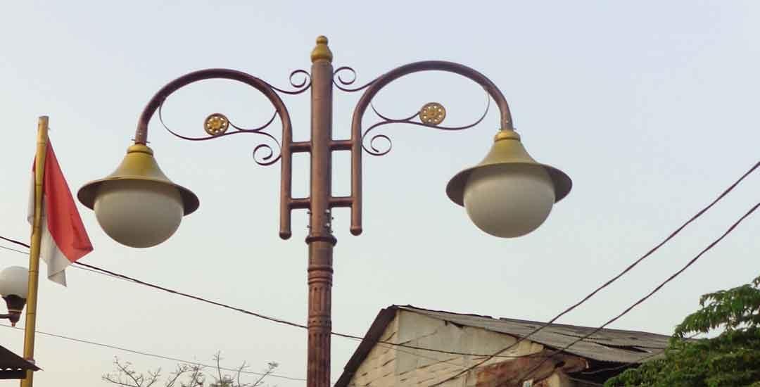 Langkah Langkah Pembuatan Lampu Taman