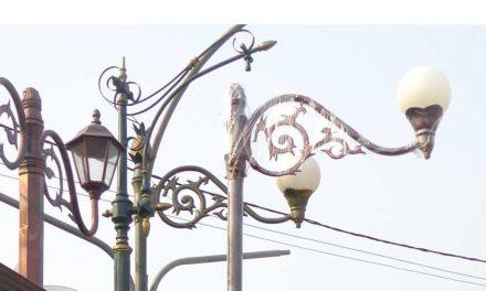 Model Tiang Lampu Masa KIni