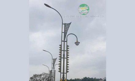 Ragam Model Tiang Lampu PJU