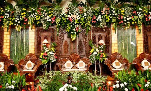 Bunga Untuk Dekorasi Pelaminan